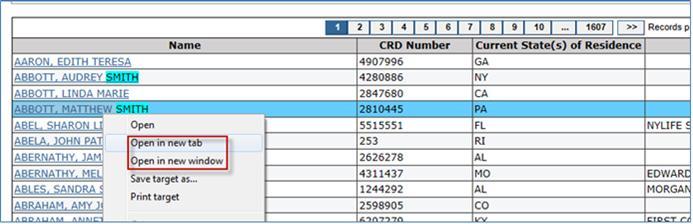 Finra broker check individual search results